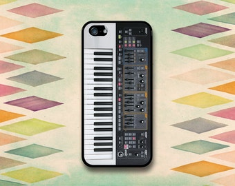 Synthesizer Keyboard Case: iPhone 4 // 4s, 5c or 5 // 5s