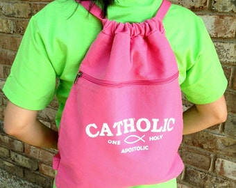 CATHOLIC One Holy Apostolic Back Pack - ORIGINAL DESIGN!!!