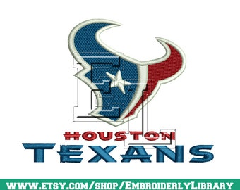 Football Embroidery Designs (houston texans) 4x4 - Instant Download