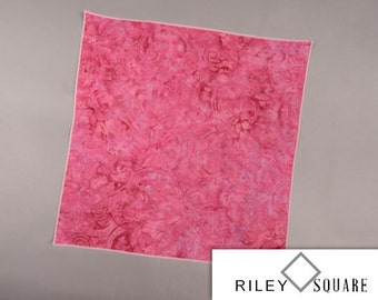 Pink Pocket Square, Shades of Pink, Indonesian Batik Pocket Square/Handkerchief/Fashion