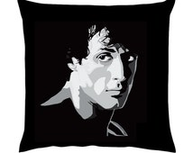 Rocky Balboa Pop art portrait Stallone Cushion/Pillow 18""