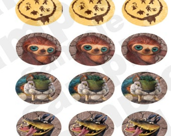 The Croods Cupcake Toppers! Digital Download!