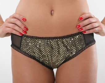 Disco Sequin Brief