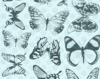 Butterflies Series 1 Unmounted Rubber Stamps by Starving Artistamps