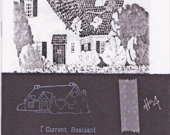 Current Resident 4 - a zine of vintage houses
