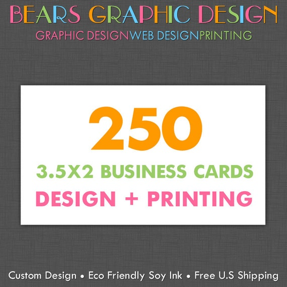Business Cards Custom Design and Printing, Business Cards Printed, Business Card Graphic Design, Custom Calling Cards