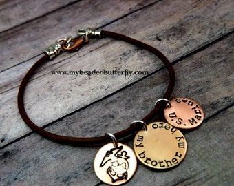 Marine bracelet-Marine corp bracelet-marine emblem-military jewelry-deployment gift-marines sister