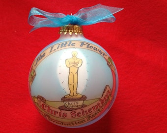 Theatre Lover  Personalized Ornament, Handpainted, Personalized, Original Design