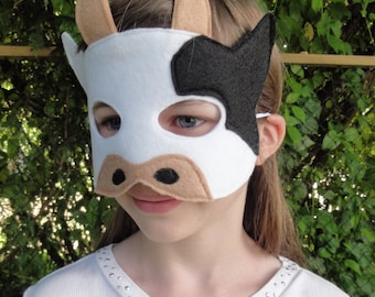 Child Cow Mask