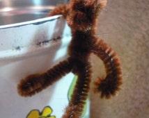 Tiny Poseable Monkey Dollhouse Miniature 1/12 scale