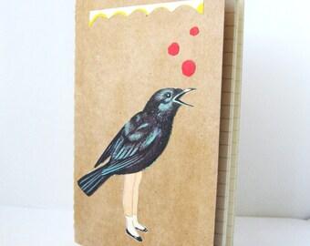 Bird Girl Moleskine Journal
