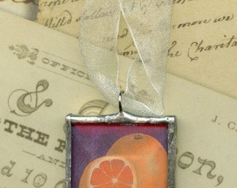 Ornament - Cherokee Language Series -  Adalonige = Orange