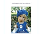 "64.  English and  French INSTANT DOWNLOAD PDF knitting Pattern 13"" dolls Little Darling Effner"