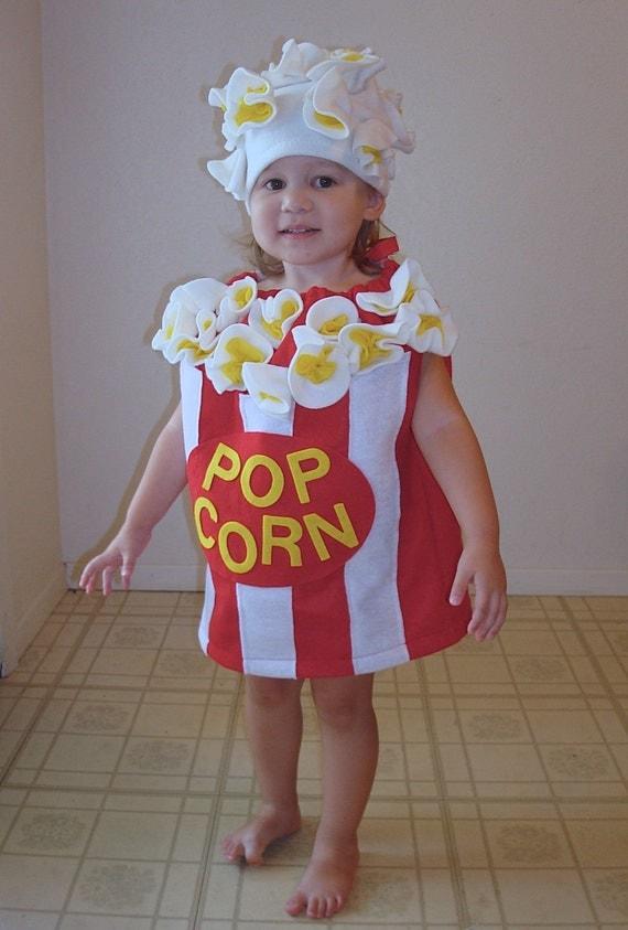 Baby Popcorn Costume Toddler Newborn Halloween Costume Photo Prop  sc 1 st  Trendy New Designers & Cheap Halloween Costumes For Kids - Trendy New Designers
