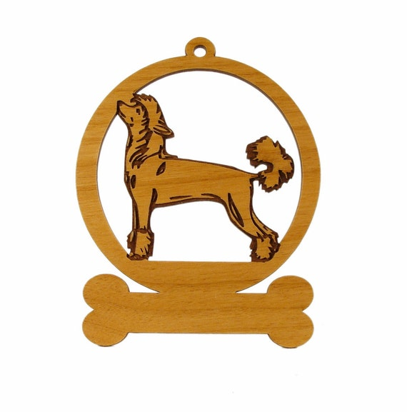 Chinese Crested Stack Ornament 082127 Personalized With Your Dog's Name