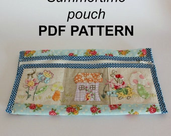 PDF PATTERN Summertime pouch