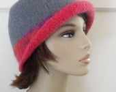 Wool Felted Hat for Women