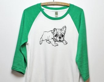 Bulldog Baseball Tee- Men