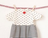 """Sweet Valentine dress for your 19"""" Tumbleberry Doll"""