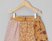 SALE 6-12m Vintage Patchwork Skirt