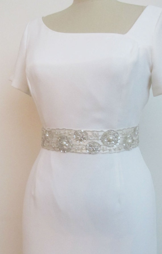 beaded bridal belts wedding sash belt with by gebridal