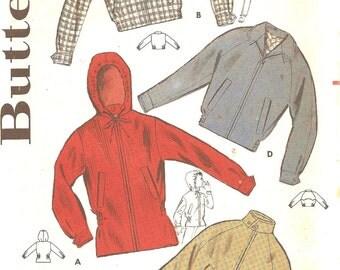 1960s Sewing Patterns - Boys Jacket Pattern - 1960s Hooded Parka Pattern - Butterick 9649  Size 4