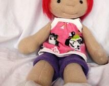 "Sue, 17"" Doll Pattern"