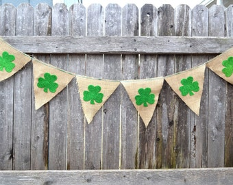 St. Patrick's Day Shamrock Banner/Bunting