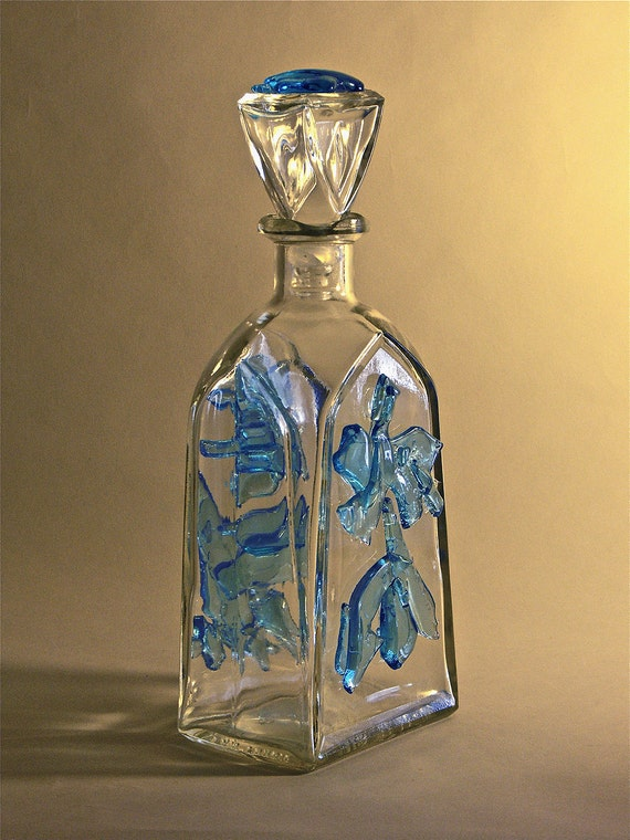 Sapphire Encrusted Decanter