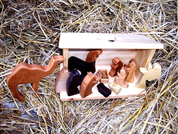 Complete Nativity Set of Characters