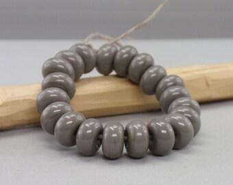 25 % off - 20 Spacer - Handmade Lampwork Beads - S 56