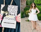 Little Black Dress, Printable Party Invitation