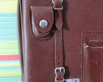 Vintage Leather Field Bag