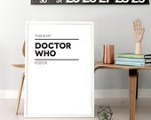 This Is My Doctor Who Poster