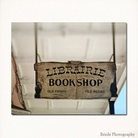 French Quarter Book Sign Librairie Bookshop New Orleans By