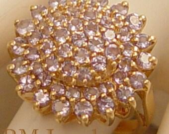 Lavender Mum - Lovely 14Kt Gold Tanzanite Estate Ring
