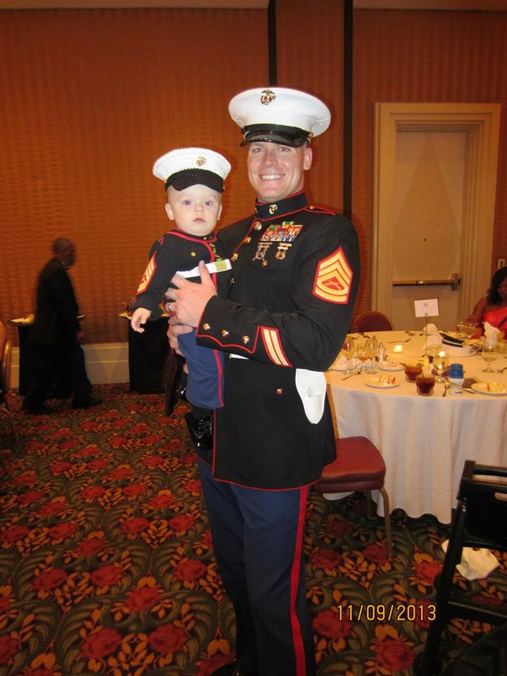 Marine baby USMC dress blues Marine Corps hat only you pick