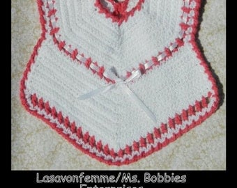 Crochet Baby Bib - PDF Pattern 81913 - Instant Download