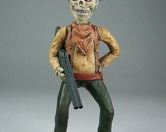 Zombie Western Horror Figure