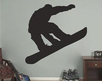 Snowboarder - Sports Wall Decals