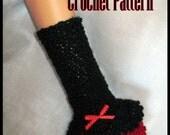Casey Armwarmers Crochet Pattern PDF - INSTANT DOWNLOAD.
