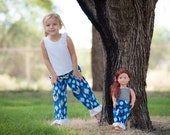 Christmas pajamas. American Girl Matching Christmas or Hanukkah Pajama Pant Set for Girl and Doll. Sizes 2T-12. Lightweight pants. Doves