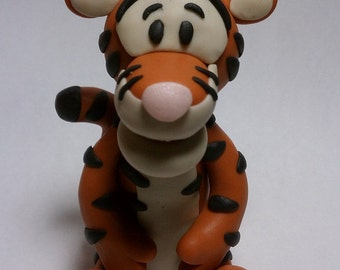 Tigger Clay Figurine