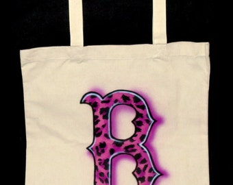 Airbrushed Boston Tote Bag
