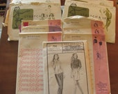 ELEVEN Vintage Ann Person Stretch and Sew Patterns-Multiple Sizes