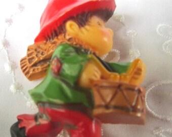 Vintage Christmas Drummer Boy by Hallmark Brooch