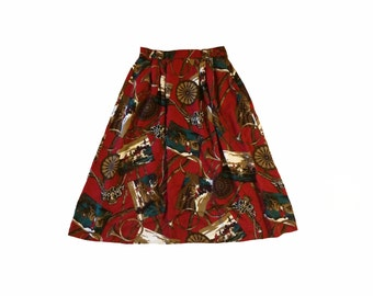 Of Course, My Horse Midi Skirt