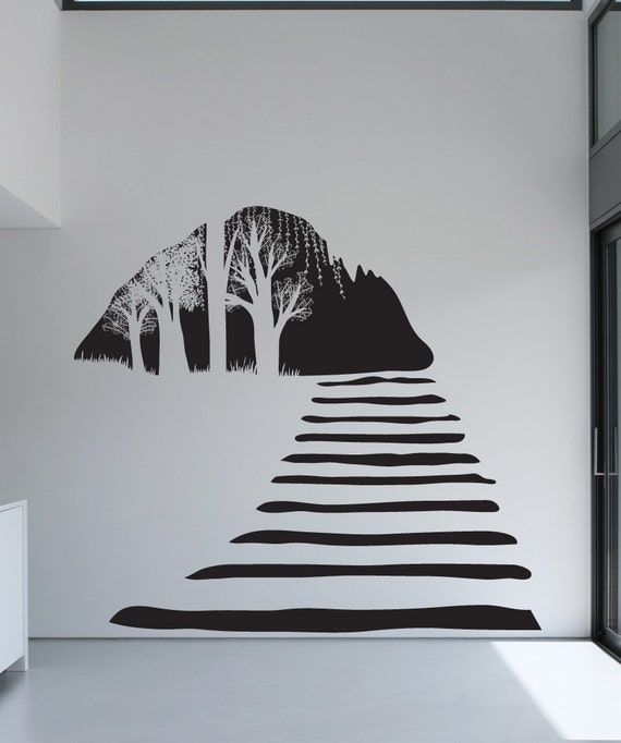 stairway wall stickers