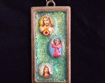Green x Jesus: Pendant necklace