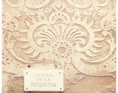 Barcelona art  - Gothic Quarter - original fine art photography print -  city art natural neutral beige white Spain urban travel